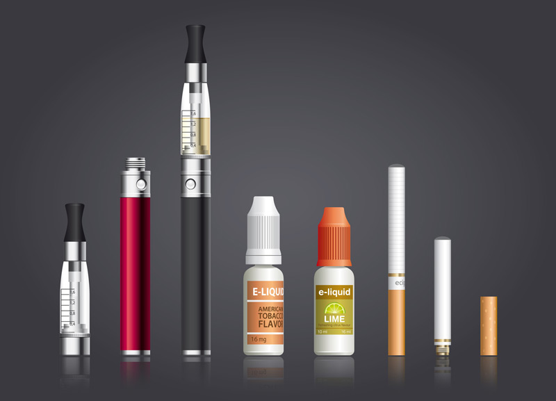 Image result for vaporizers and e-cigs